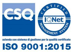Certificazioni ISO 9001-2015
